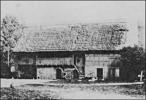 Caspar Kriebel home, Harpersdorf, circa 1714