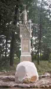 The Viehweg Monument July 2002